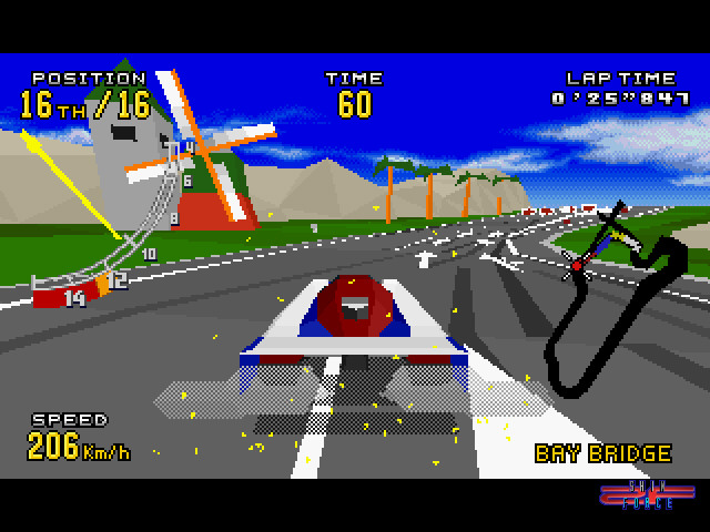 Virtua Racing Deluxe Screenshots Sega Shin Force Gt Systems Gt Sega Genesis 32x Gt Games