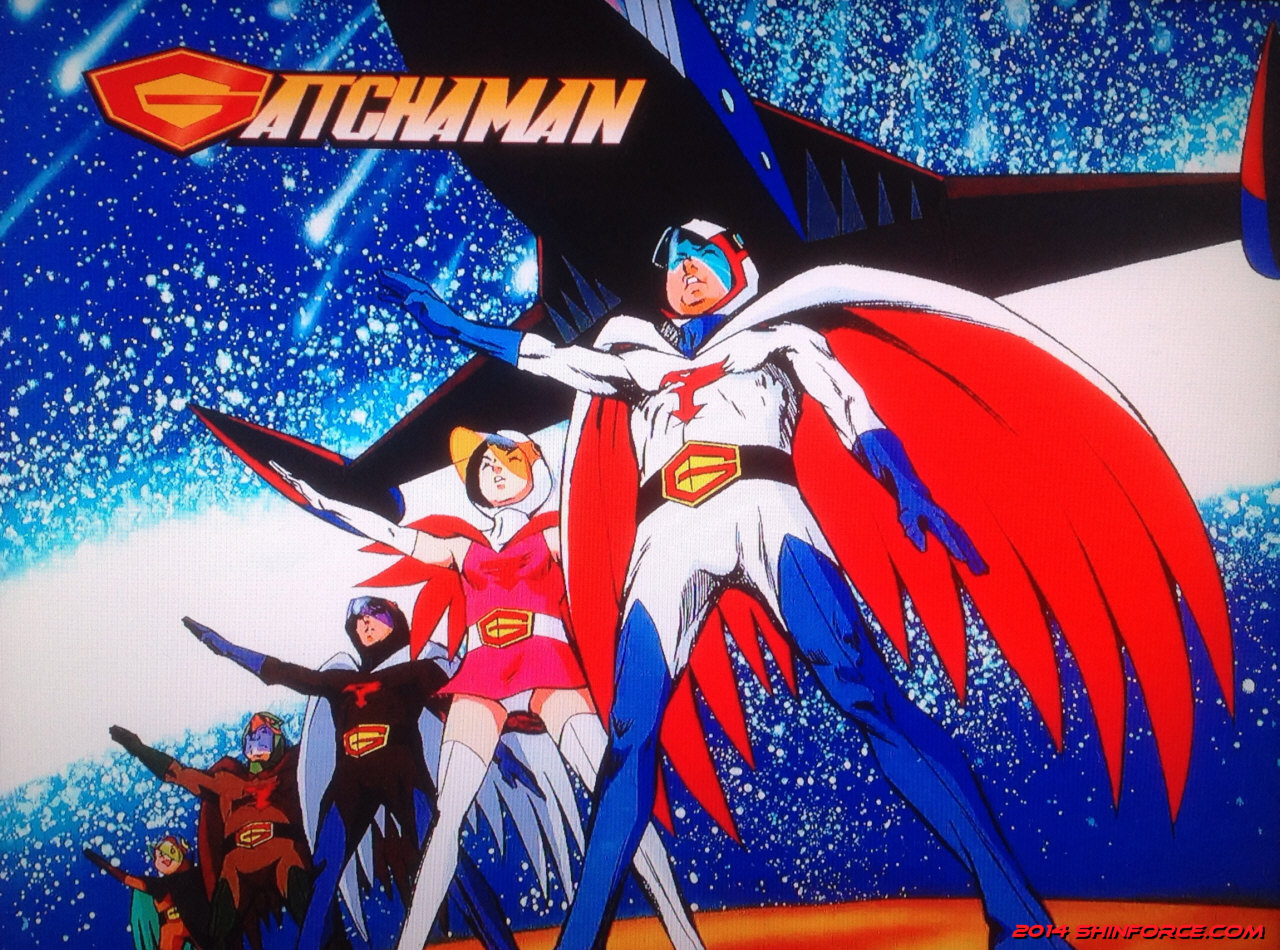 G Force Anime Characters : Gatchaman series artwork battle of the planets g force