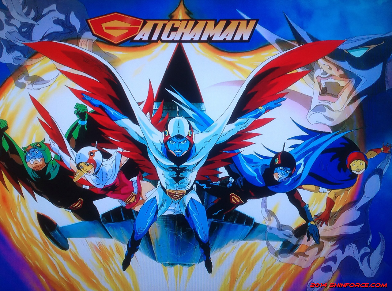 Gatchaman (Series) Artwork / Battle of the Planets / G ...