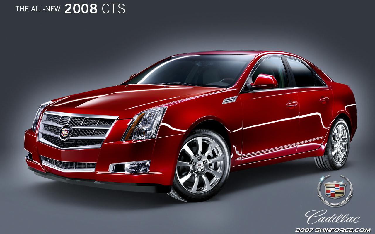 2008 Cadillac Cts Sega Shin Force Cool Wallpaper Cadillac