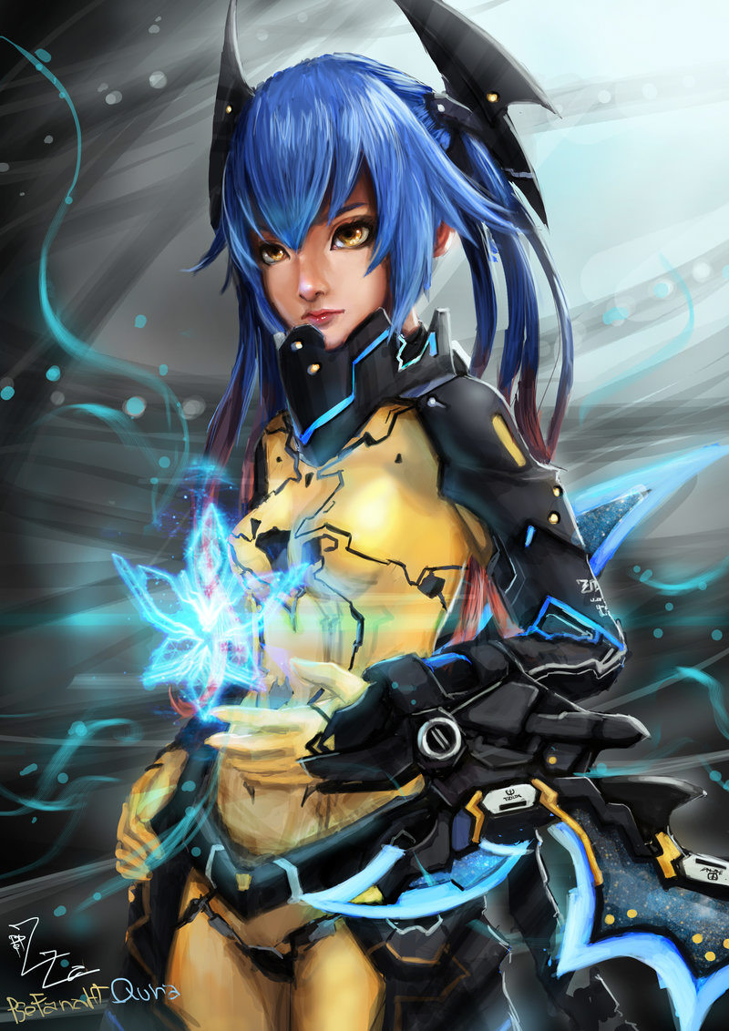 Phantasy Star Online 2 Artwork Sega Shin Force