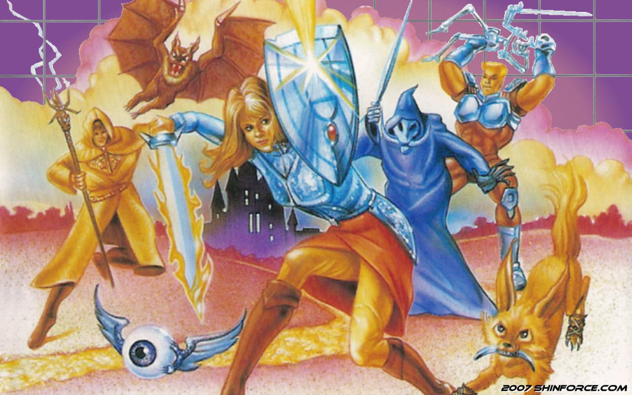 Phantasy Star Online Wallpaper: Phantasy Star :: Wallpaper