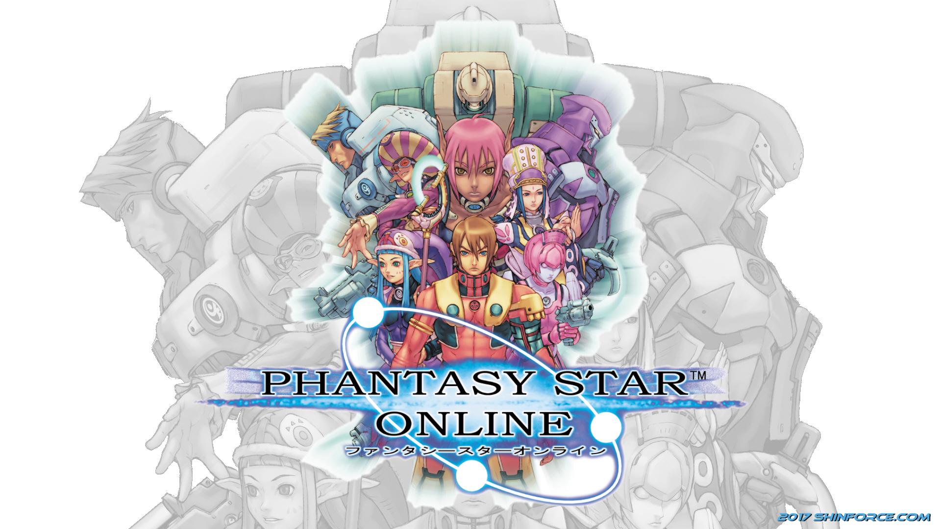 phantasy star online :: wallpaper 01 | sega/shin force > elite
