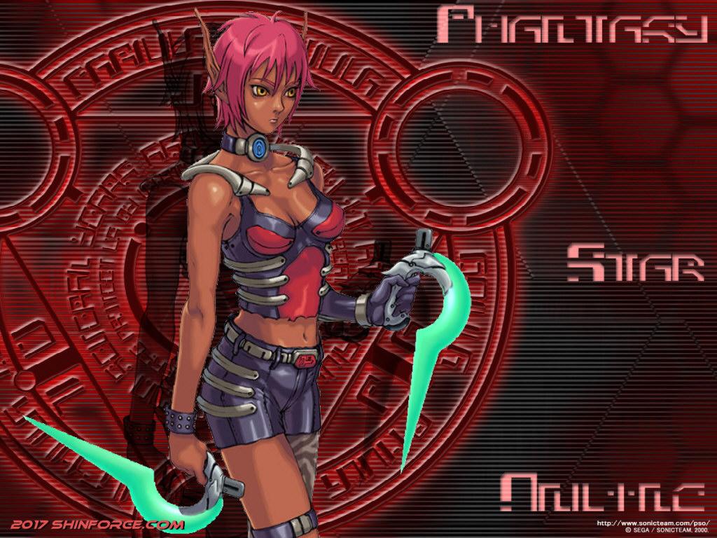 Phantasy Star Online Wallpaper: Phantasy Star Online :: Wallpaper 01