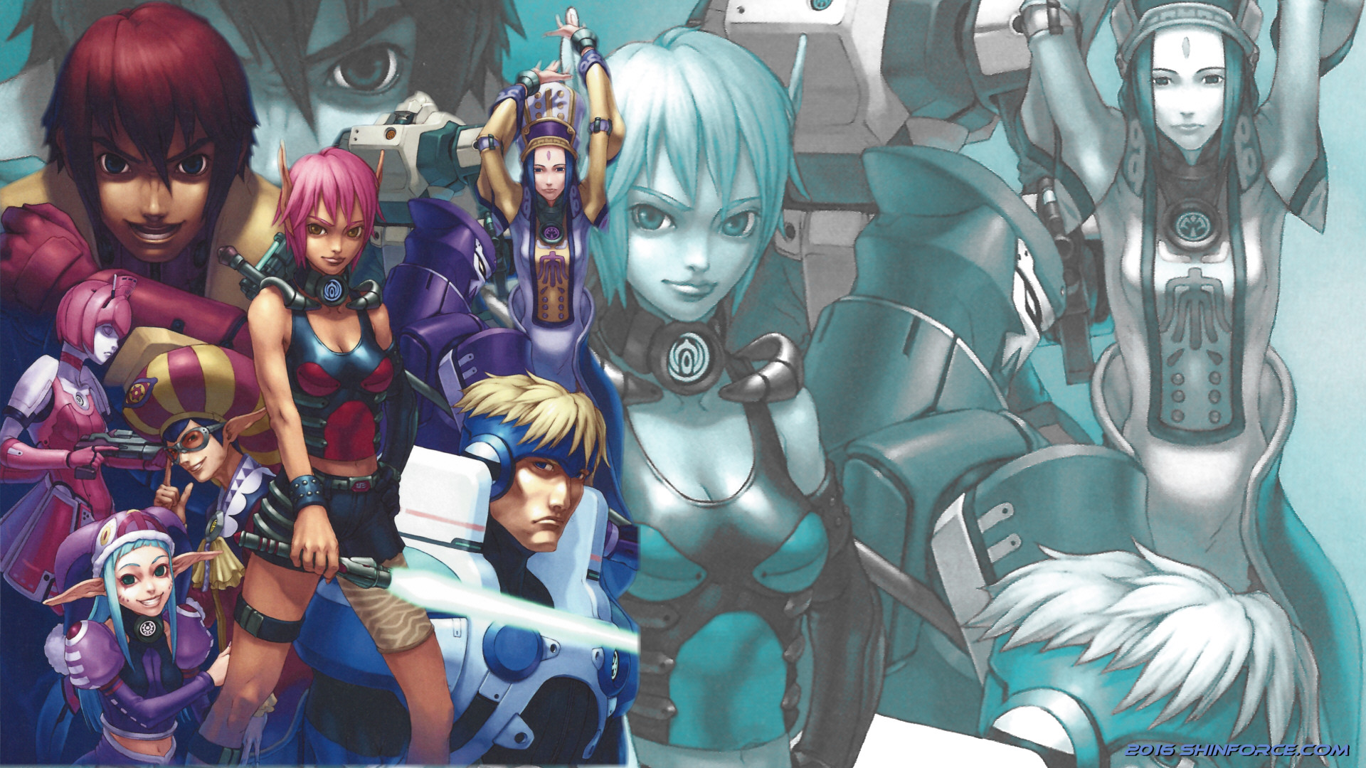 Phantasy Star Online Wallpaper: Phantasy Star Online :: Wallpaper 07