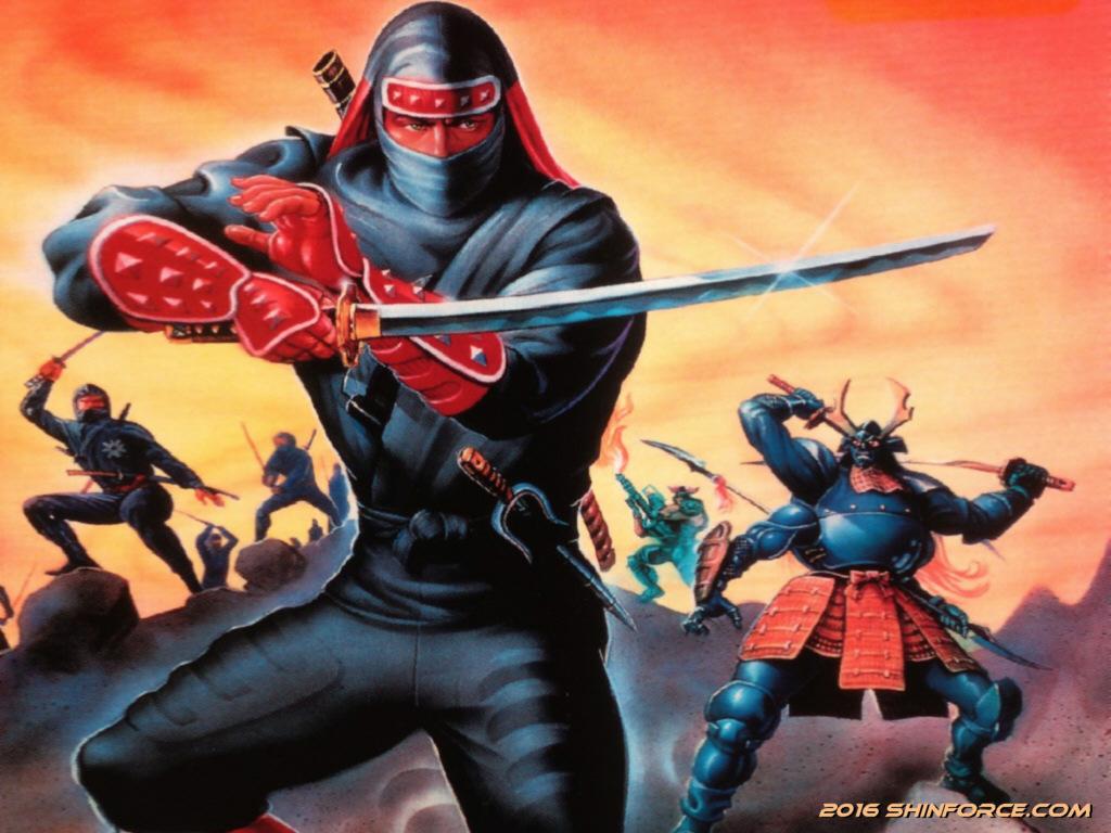 The Super Shinobi Ii Shinobi Iii Return Of The Ninja Master Wallpaper Sega Shin Force Elite Series Shinobi Series