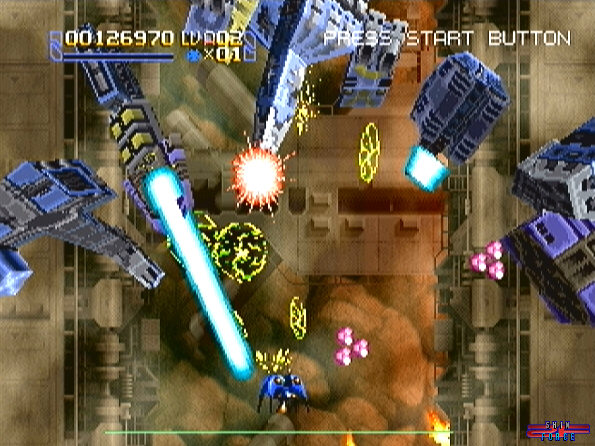 Radiant Silvergun Screenshots Pix Sega Saturn Games